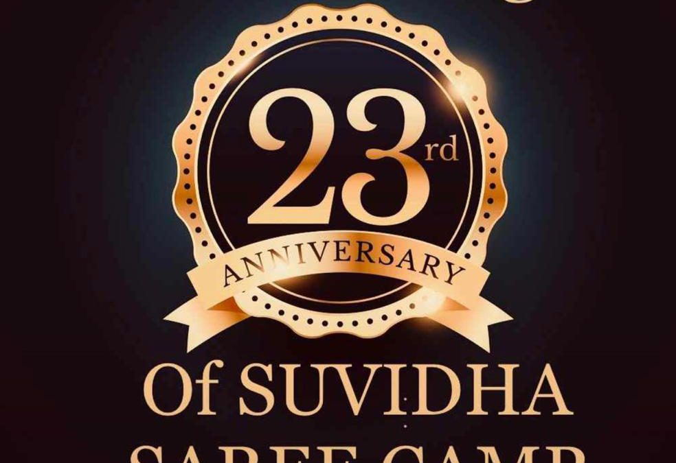 Suvidha Saree Camp Turns 23 This Year